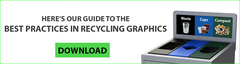 Recycling Graphics Guide, Sustainability Manager, Facility Manager, recycling program, office recycling, business recycling, campus recycling