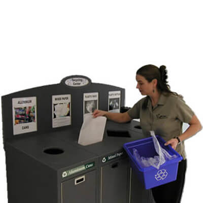 office recycling program