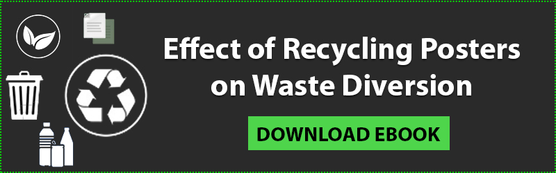 Effect of Recycling Posters on Waste Diversion