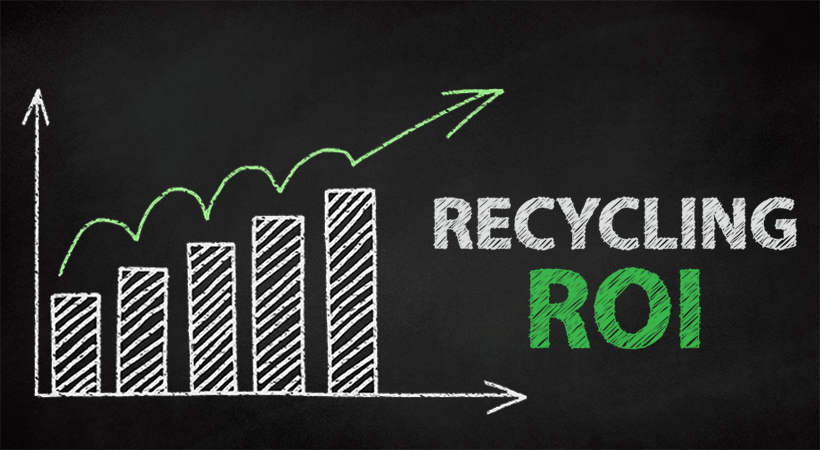 Recycling Program ROI, Recycling ROI, Recycling Returns