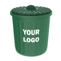 Custom Mini Bin Green