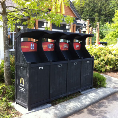 McDonalds Drivethrough Recycling XCA25-4-ABH