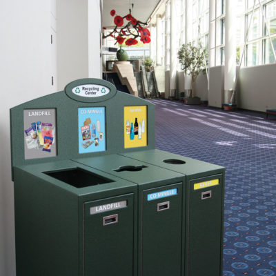 Oregon Convention Center Recycling IMSF-3-BB