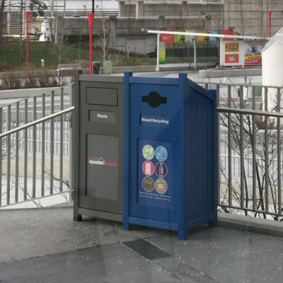 Outdoor Recycling Containers XS35-2