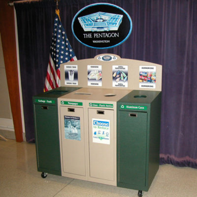 Pentagon Recycling Containers IMSF-4-BB