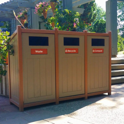 Public Park Recycling XS50-3