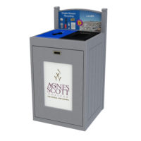 Commercial Recycling Bin, Best Campus Recycling Bin, University Recycling Solution, Indoor Recycling, Outdoor Recycling Container