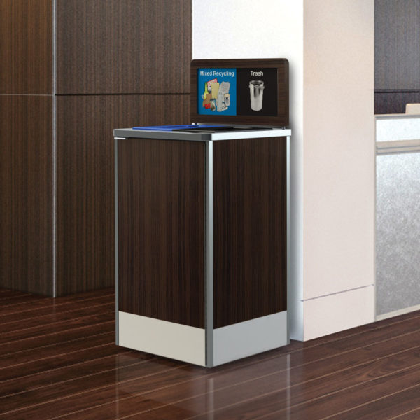 Foodservice Recycling Bin, Restaurant Recycling Bin, Office Recycling Waste Container, Mall, Cafeteria Recycling Bin