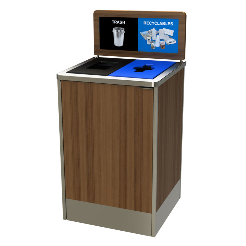 Restaurant And Foodservice Recycling Bin Cleanriver Recycling