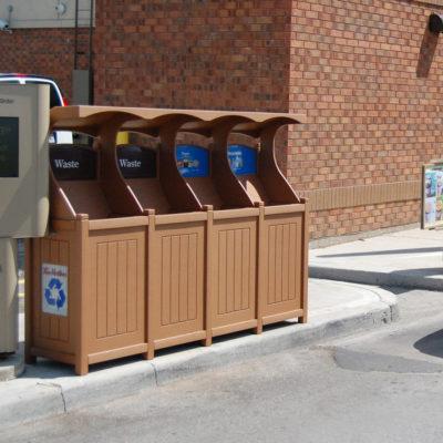Tim Hortons Drivethrough Recycling