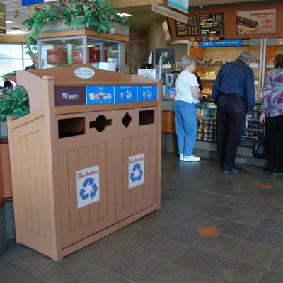 Tim Hortons Indoor Recycling