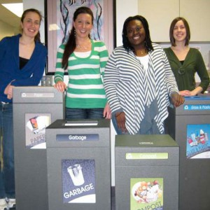 University Recycling Green Team ISQT- Recycling Program - Indoor Recycling Bin