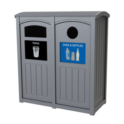Outdoor Recycling Bins And Containers Cleanriver