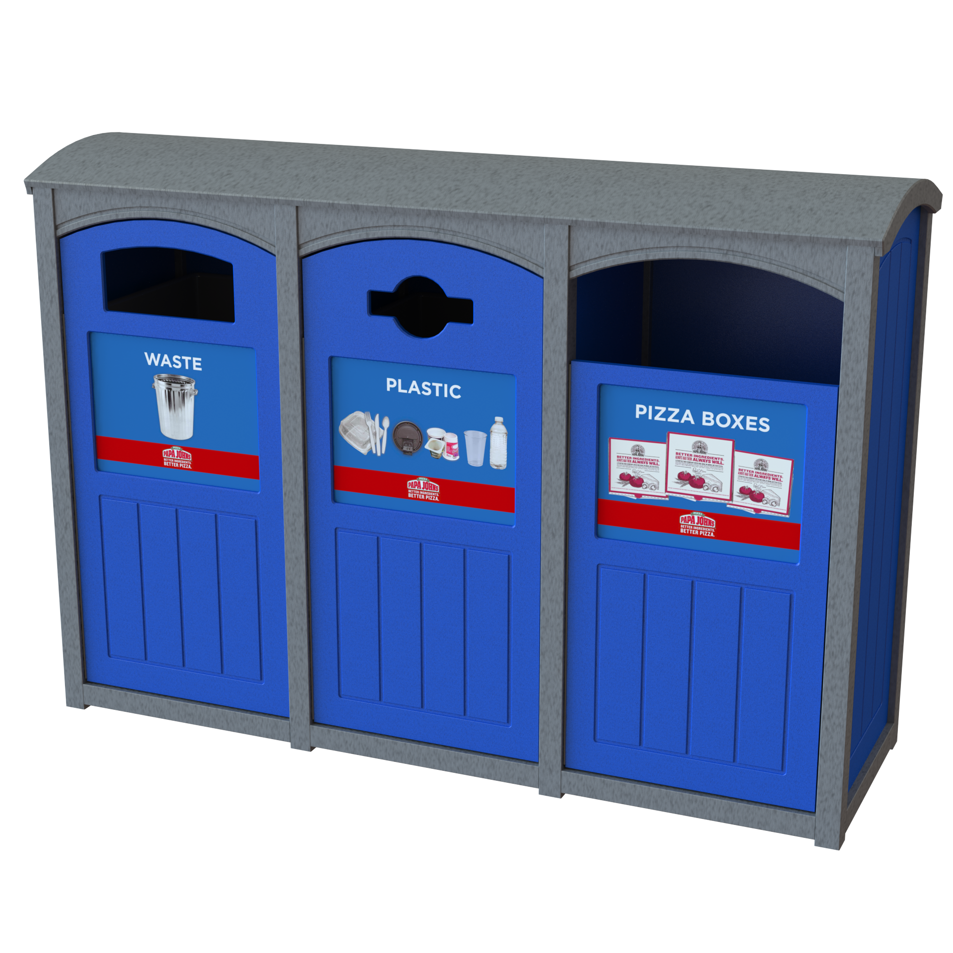 restaurant recycling bins and programs