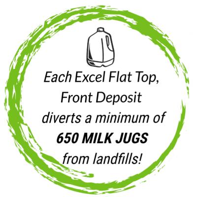 excel flat top, top deposit