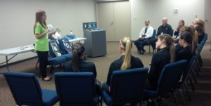 Training staff on how to use zero waste stations helped the LEC decrease landfill waste by 63%