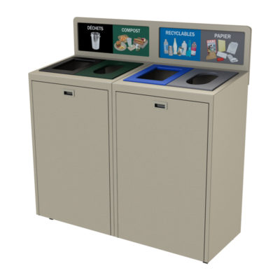 Best Office Recycling and waste Bin, Indoor recycling and waste container