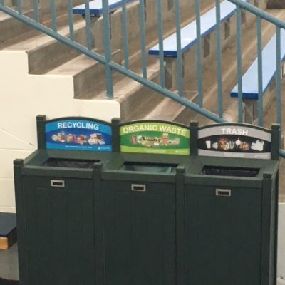 stadium recycling