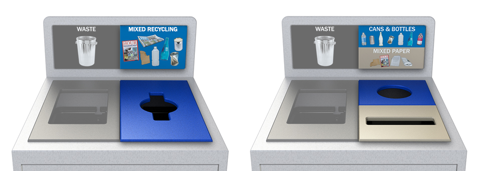 Single Stream Recycling Collection vs. Source Separated Recycling Collection