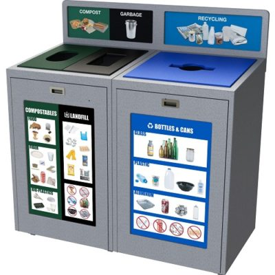 Recycling posters, recycling graphics, recycling labels, recycle, indoor recycling bin, outdoor recycling container
