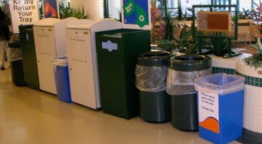 Recycling Program - Poor Recycling - Recycling Bin