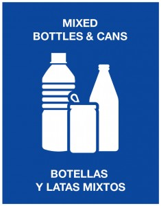 Mixed-Bottles-Cans Pictogram