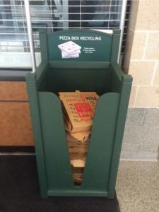 Pizza Box Bin