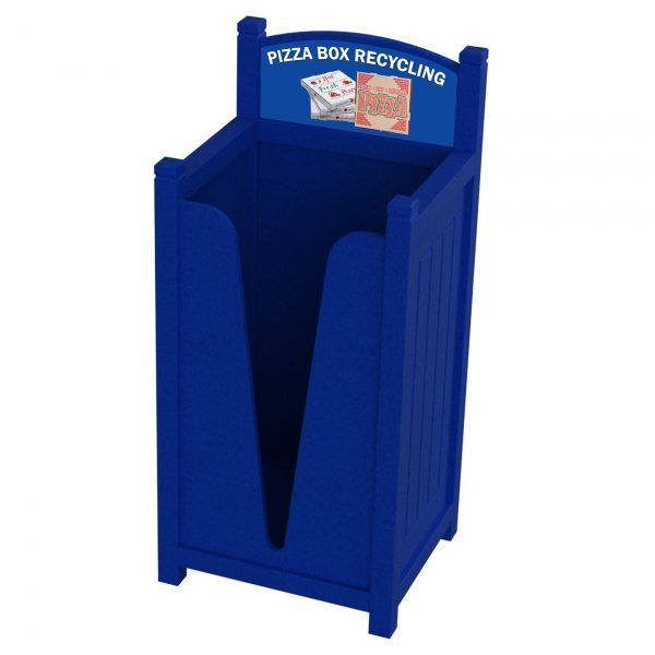 Pizza Box Recycling Bin, Campus Recycling ,