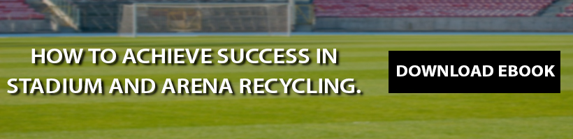 stadium recycling , case study, ebook, stadium bin, arena recycling, recycling program