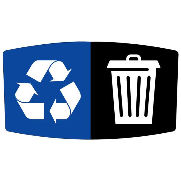 Flex E Bin Base Label Add-on (Waste / Recycling)