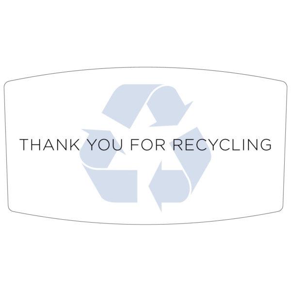 Flex E Bin Base Label Add-on (Recycling)