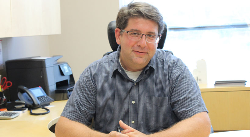 CleanRiver Regional Sales Manager, Tom Lembo