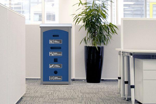 Office E-Waste Bin
