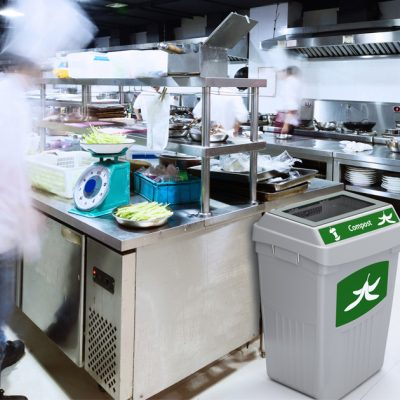 restaurant recycling bins