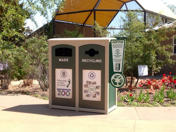 outdoor recycling