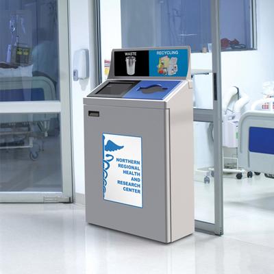 hospital recycling program, medical waste