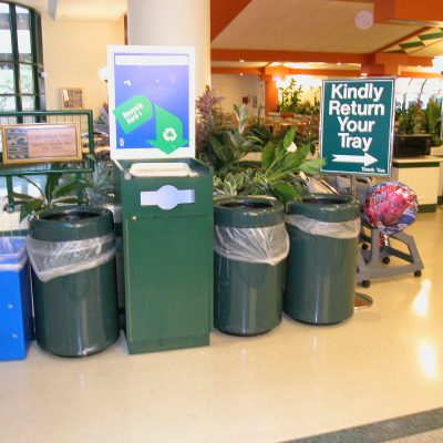 hospital recycling program, medical waste