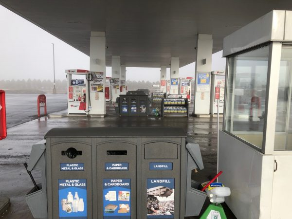 gas station recycling program