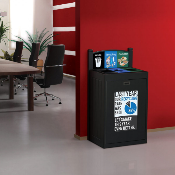 recycling bin, transition technology, cleanriver