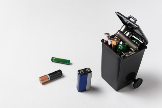 used batteries recycling