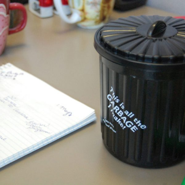 small recycling bin solutions for the office