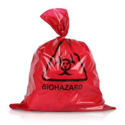 rode zak afval in ziekenhuizen hospital