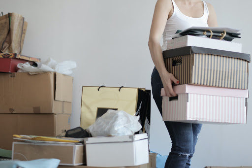 spring recycling declutter