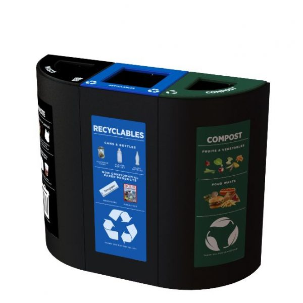indoor recycling station