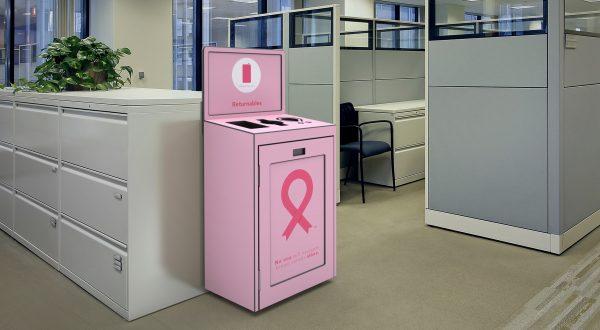 Breast Cancer Awareness Bin