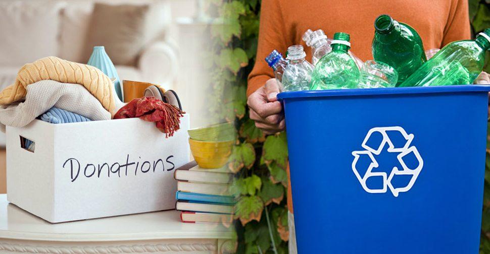 recycling charities
