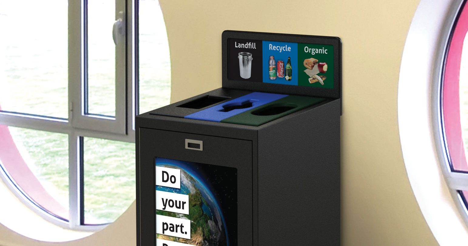 Best Office Recycling and waste Bin, Indoor recycling and waste container, New York City Recycling Mandates